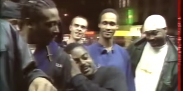 Wu-Tang Clan, homeless freestyle (1994) rare!