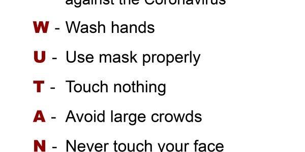 Protect Ya Neck against the Coronavirus