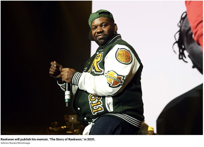 Raekwon to Publish Memoir in 2021