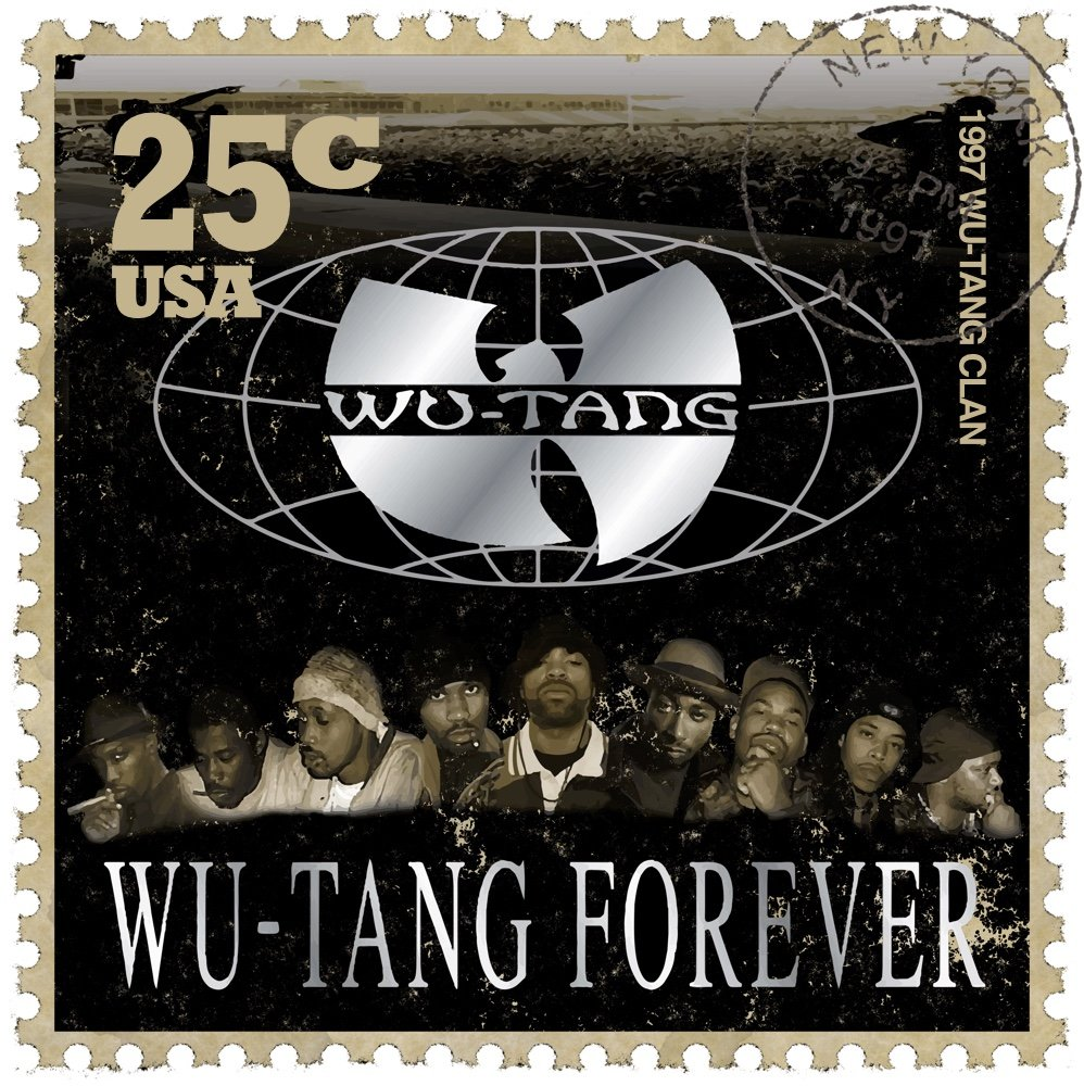 Wu-Tang Forever Stamp
